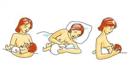 Les positions pour allaiter